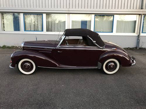 MERCEDES-BENZ  220 A CABRIO  (Type 187)  1953 For Sale (picture 1 of 6)