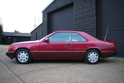 1992 Mercedes W124 230CE 2.3 2dr Coupe Auto (48,415 miles) SOLD (picture 1 of 6)