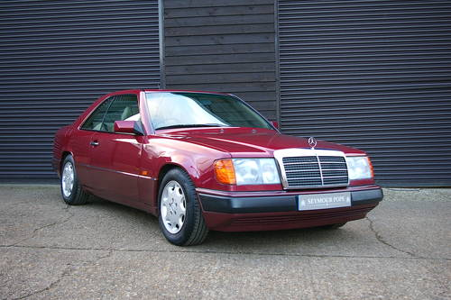 1992 Mercedes W124 230CE 2.3 2dr Coupe Auto (48,415 miles) SOLD (picture 2 of 6)