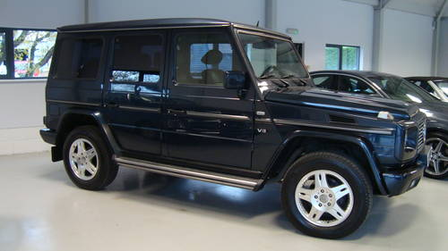ea6bb79c61 ... 2001 Mercedes- Benz G Wagen 400 CDI LWB V8 LHD SOLD (picture 1 of ...