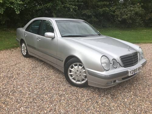 Mercedes E200 2001 one owner, low miles, perfect For Sale (picture 1 of 6)
