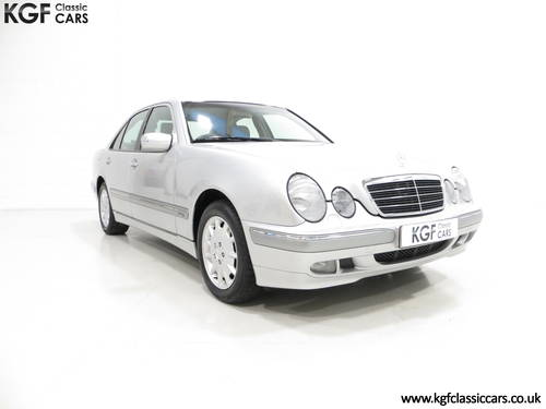 2000 A Sublime Mercedes-Benz E240 Elegance with Just 44,074 Miles SOLD (picture 1 of 6)
