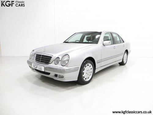2000 A Sublime Mercedes-Benz E240 Elegance with Just 44,074 Miles SOLD (picture 2 of 6)
