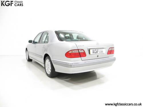 2000 A Sublime Mercedes-Benz E240 Elegance with Just 44,074 Miles SOLD (picture 4 of 6)