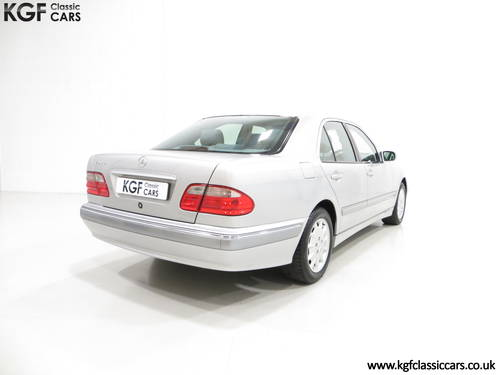 2000 A Sublime Mercedes-Benz E240 Elegance with Just 44,074 Miles SOLD (picture 5 of 6)
