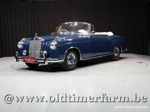 1960 Mercedes-Benz Ponton 220SE Cabriolet '60 For Sale (picture 1 of 6)