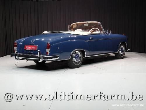 1960 Mercedes-Benz Ponton 220SE Cabriolet '60 For Sale (picture 2 of 6)