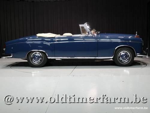 1960 Mercedes-Benz Ponton 220SE Cabriolet '60 For Sale (picture 3 of 6)