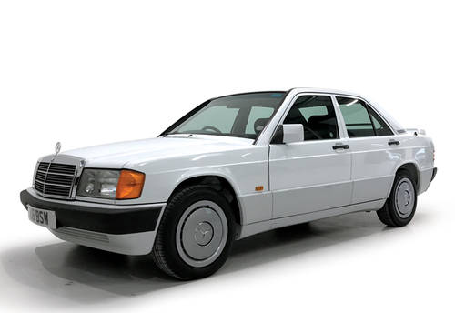 1992 Mercedes 190E 2.0 one owner from new SOLD (picture 1 of 6)