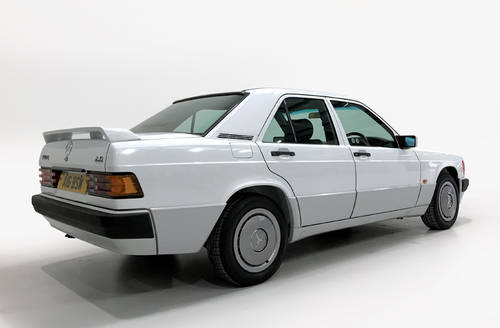 1992 Mercedes 190E 2.0 one owner from new SOLD (picture 2 of 6)