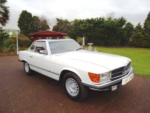 Mercedes 350SL Sports 1980 For Sale (picture 1 of 6)