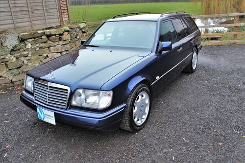 1995 Sept 95' Mercedes E320 Ltd Estate 74,233 miles from new SOLD (picture 1 of 6)