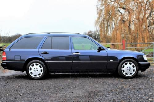 1995 Sept 95' Mercedes E320 Ltd Estate 74,233 miles from new SOLD (picture 2 of 6)