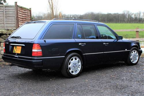 1995 Sept 95' Mercedes E320 Ltd Estate 74,233 miles from new SOLD (picture 3 of 6)