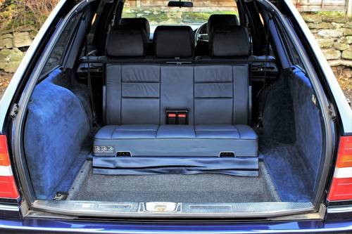 1995 Sept 95' Mercedes E320 Ltd Estate 74,233 miles from new SOLD (picture 5 of 6)