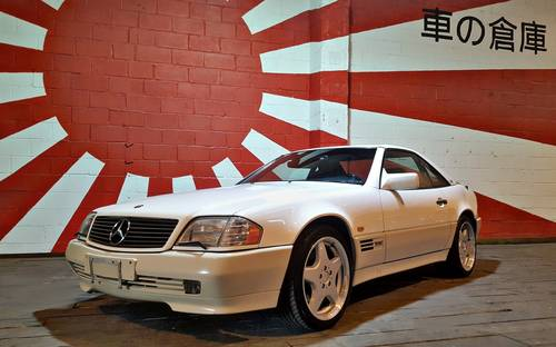 1996 MERCEDES-BENZ SL IMPORT FUTURE CLASSIC MERCEDES SL600 V12  For Sale (picture 1 of 6)