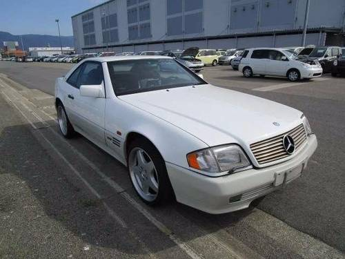 1996 MERCEDES-BENZ SL IMPORT FUTURE CLASSIC MERCEDES SL600 V12  For Sale (picture 2 of 6)