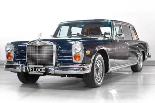 1972 Mercedes 600 Grosser with history and impressive restoration SOLD (picture 1 of 6)