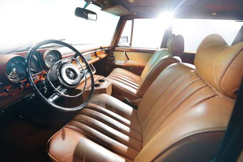 1972 Mercedes 600 Grosser with history and impressive restoration SOLD (picture 5 of 6)