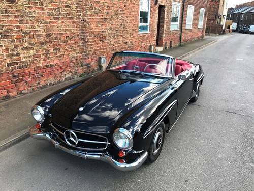 1961 Mercedes-Benz 190SL SOLD (picture 2 of 6)
