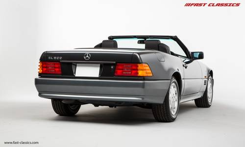 1994 Mercedes SL 500 // The Best R129 available w/ just 2k miles SOLD (picture 3 of 6)