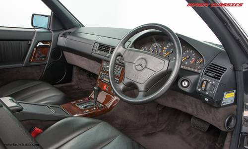 1994 Mercedes SL 500 // The Best R129 available w/ just 2k miles SOLD (picture 5 of 6)