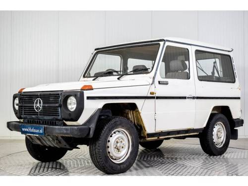 1986 Mercedes G-Wagon 300GD RHD For Sale (picture 1 of 6)