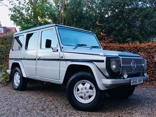1989 G WAGEN G WAGON 280GEL 9 SEATER AUTOMATIC - VALUE SOLD (picture 1 of 6)
