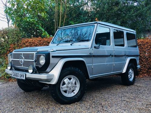 1989 G WAGEN G WAGON 280GEL 9 SEATER AUTOMATIC - VALUE SOLD (picture 2 of 6)