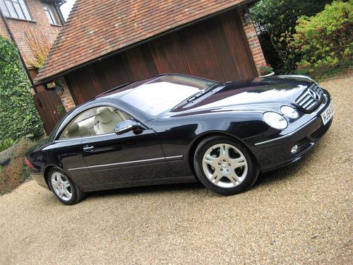 2004 Mercedes Benz CL500 With Just 20,000 Miles From New For Sale (picture 2 of 6)