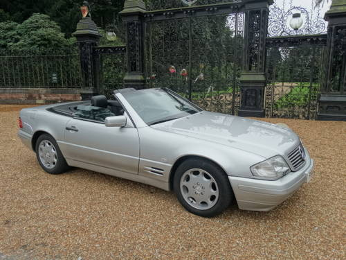 1997 MERCEDES 320 SL Convertible For Sale (picture 1 of 6)