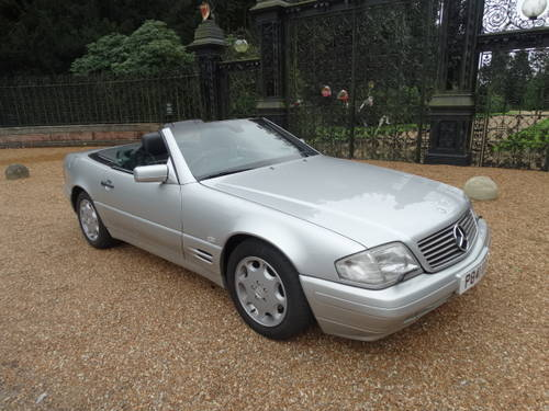 1997 MERCEDES 320 SL Convertible For Sale (picture 2 of 6)