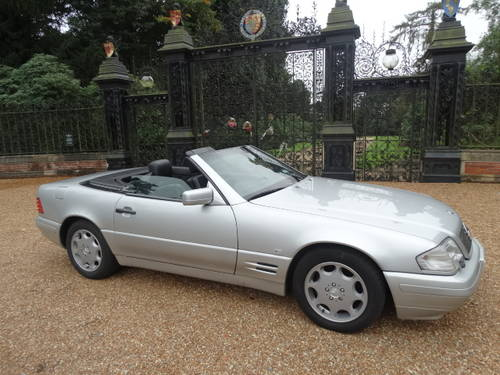1997 MERCEDES 320 SL Convertible For Sale (picture 3 of 6)