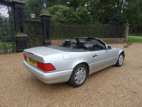 1997 MERCEDES 320 SL Convertible For Sale (picture 5 of 6)