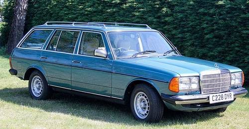 1986 Mercedes W123 280 TE Estate For Sale | Car And Classic