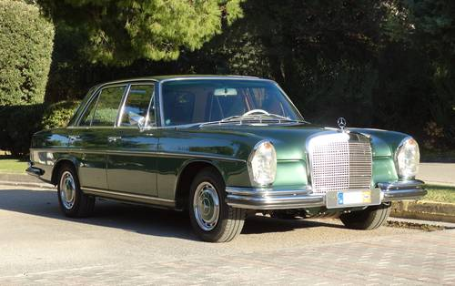 1972 Mercedes-Benz 280 SE, Concours condition, 49k kms For Sale (picture 1 of 6)