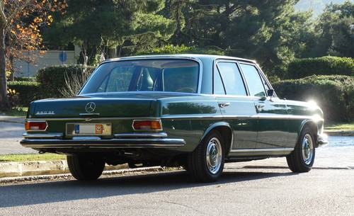 1972 Mercedes-Benz 280 SE, Concours condition, 49k kms For Sale (picture 2 of 6)