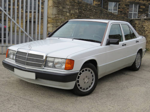 1990 Mercedes W201 190D Auto LHD - 56K - FSH - The Best Available SOLD (picture 1 of 6)