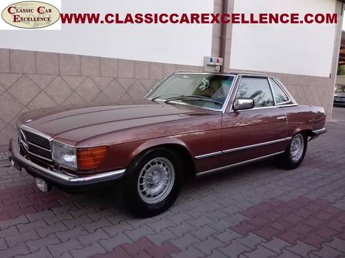 1979 MERCEDES 450 SL ROADSTER EUROPEAN MODEL  For Sale (picture 1 of 6)