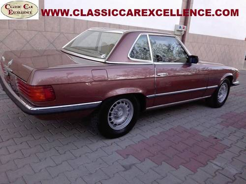 1979 MERCEDES 450 SL ROADSTER EUROPEAN MODEL  For Sale (picture 2 of 6)