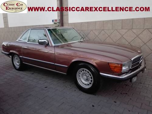 1979 MERCEDES 450 SL ROADSTER EUROPEAN MODEL  For Sale (picture 3 of 6)