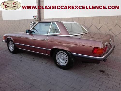 1979 MERCEDES 450 SL ROADSTER EUROPEAN MODEL  For Sale (picture 4 of 6)