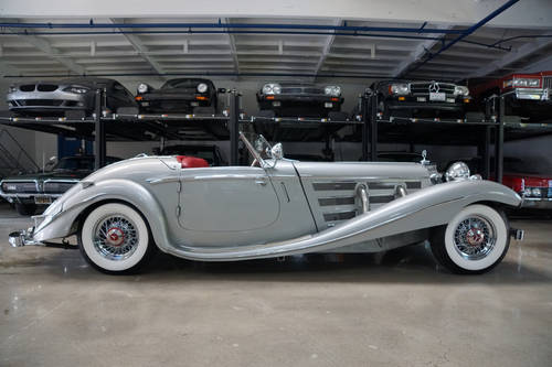 1936 Mercedes Benz 540k Special Roadster Replica Sold Car And Classic