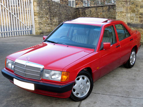 1991 Mercedes W201 190D 2.5 5sp Man - Just 46K Miles - Pristine SOLD (picture 1 of 6)