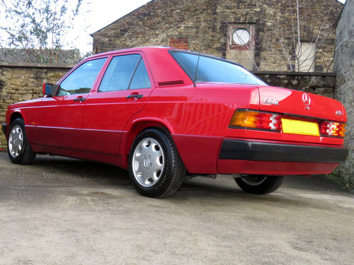 1991 Mercedes W201 190D 2.5 5sp Man - Just 46K Miles - Pristine SOLD (picture 2 of 6)