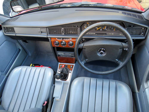 1991 Mercedes W201 190D 2.5 5sp Man - Just 46K Miles - Pristine SOLD (picture 4 of 6)
