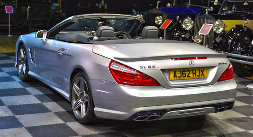 2013 2012 Mercedes Benz 5.5 SL63 AMG 2dr For Sale (picture 3 of 6)