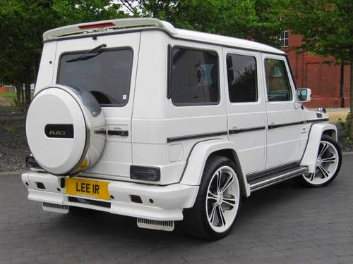 2005 MERCEDES-BENZ G CLASS G WAGON G55 AMG A.R.T LHD For Sale (picture 4 of 6)