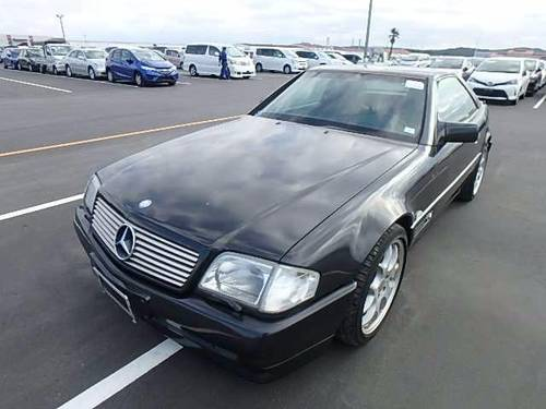 1994 MERCEDES SL600 V12 CONVERTIBLE BRABUS STYLING For Sale (picture 1 of 6)