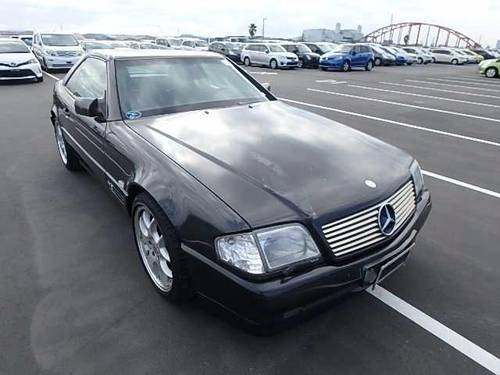 1994 MERCEDES SL600 V12 CONVERTIBLE BRABUS STYLING For Sale (picture 2 of 6)